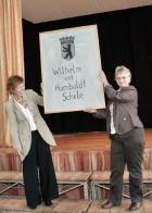 Namensgebung der Wilhelm-von-Humboldt-Gemeinschaftsschule