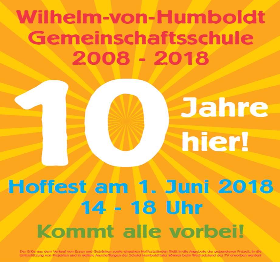 Plakat Hoffest 2018