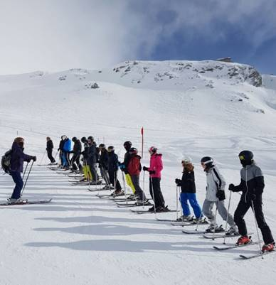WvH-Skifahrt Januar 2018