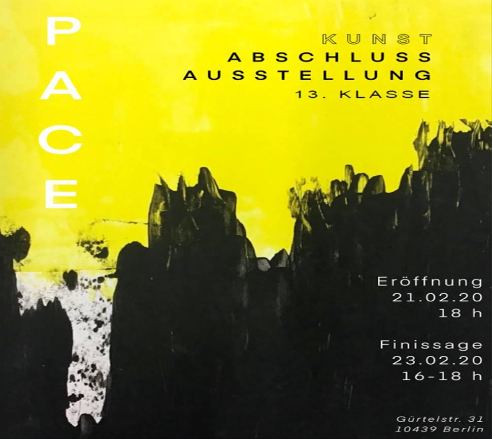 Plakat Kunstausstellung 2020