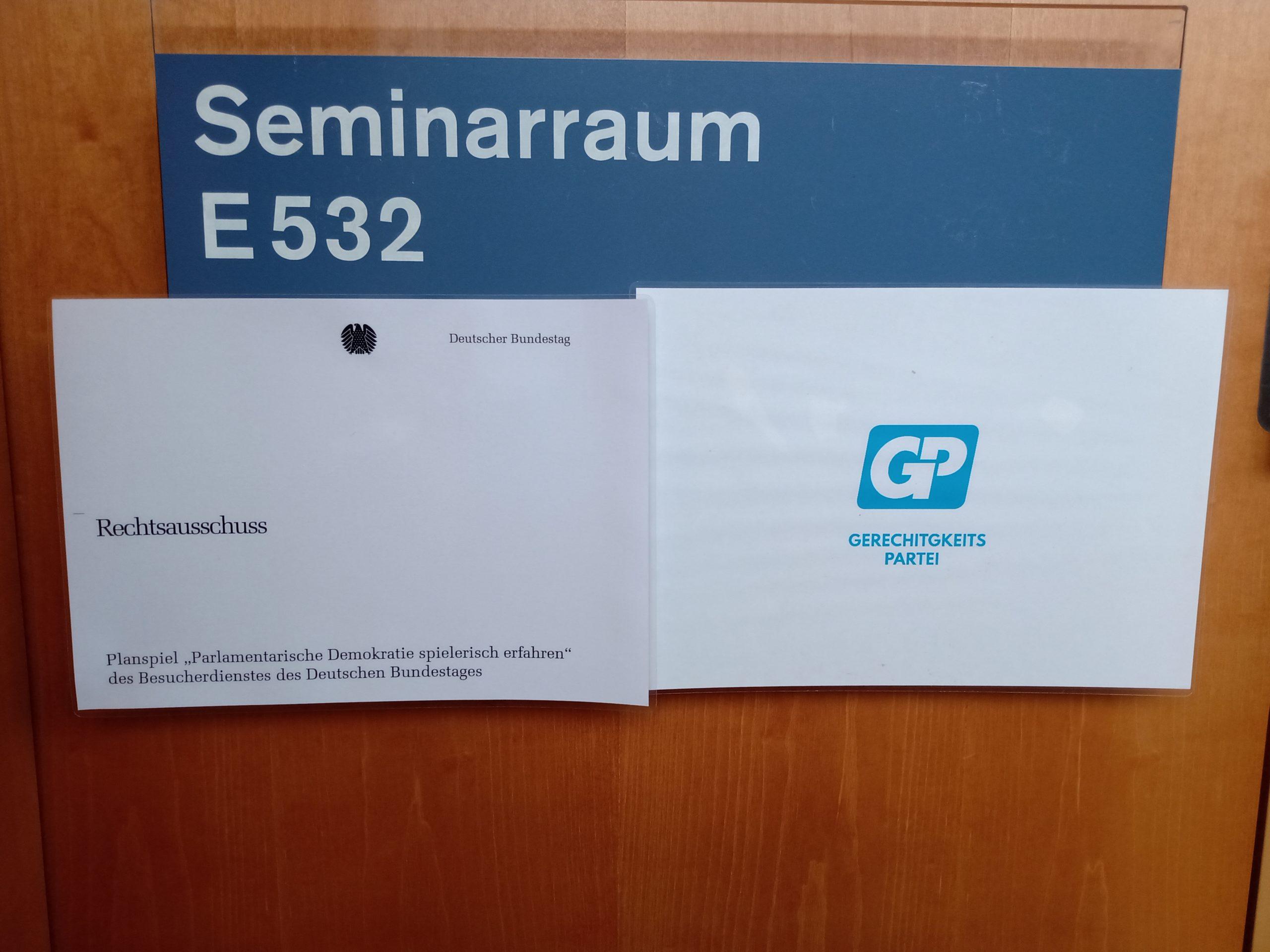 Planspiel Bundestag 2020