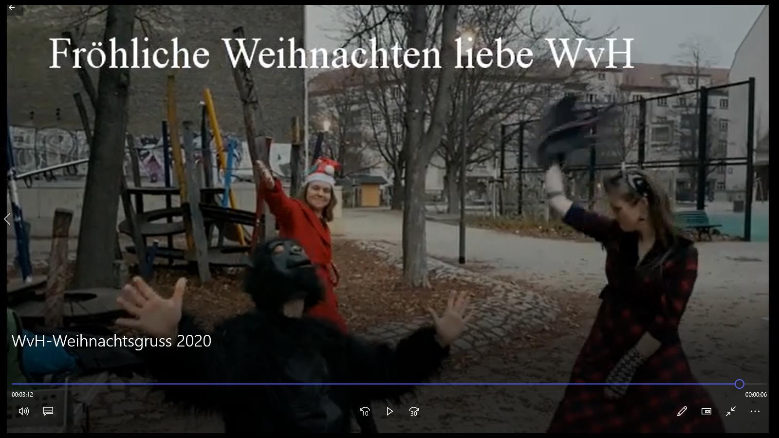 WvH-Weihnachtsgruss 2020